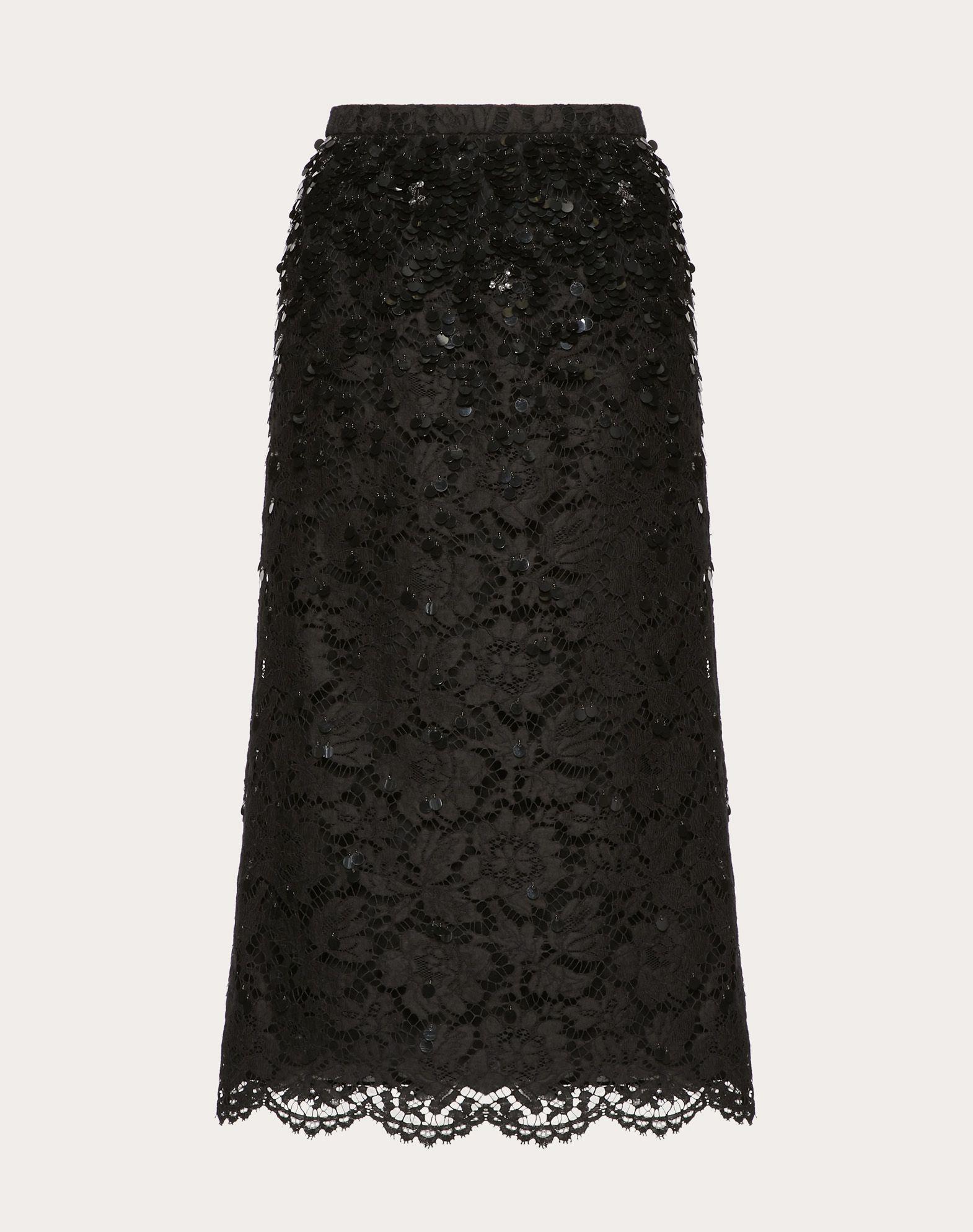 ヘビーレース スカート