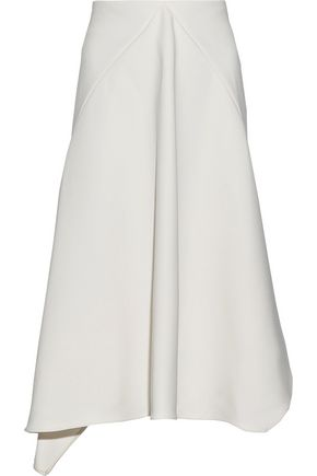 MARNI Draped crepe skirt