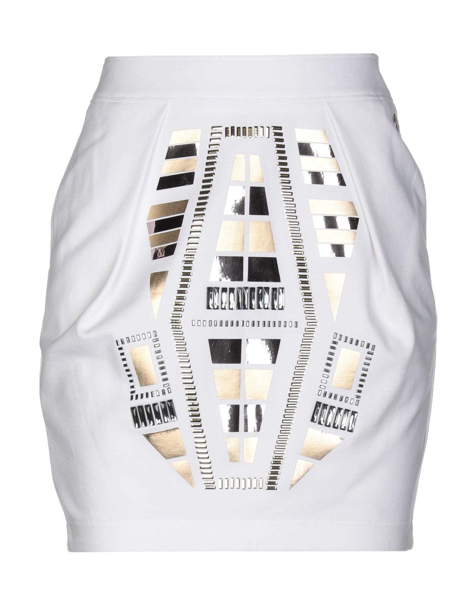 VERSACE JEANS Мини-юбка versace collection мини юбка