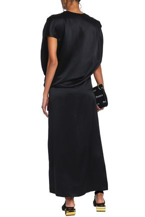 J.W.ANDERSON Cutout silk-satin maxi skirt