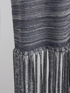 フリンジ付きスカート