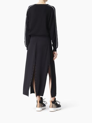 Slashed skirt