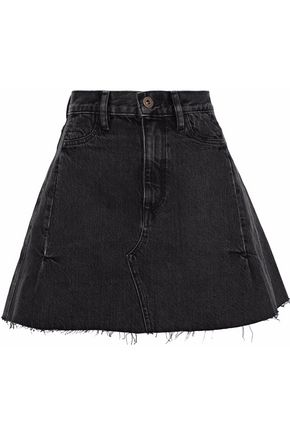 SIMON MILLER Nashua denim mini skirt