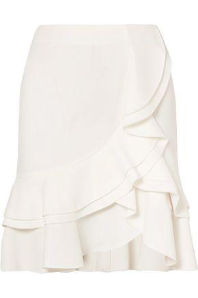 PROENZA SCHOULER Ruffled crepe skirt
