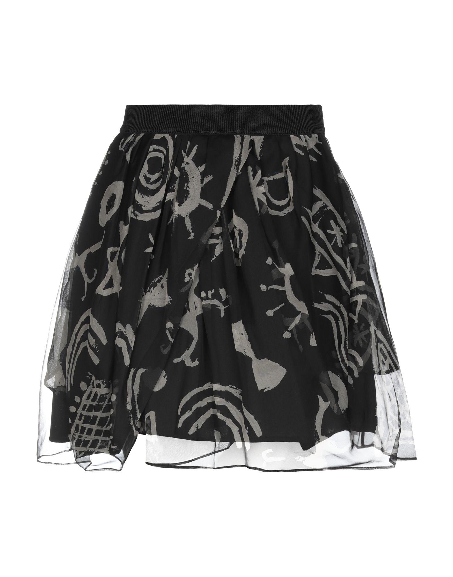 EGGS Мини-юбка eggs длинная юбка