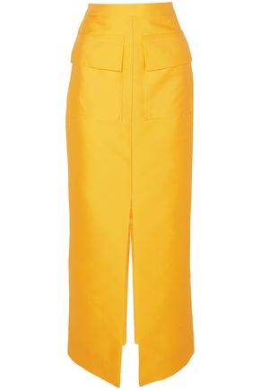 MERCHANT ARCHIVE Satin-twill maxi skirt