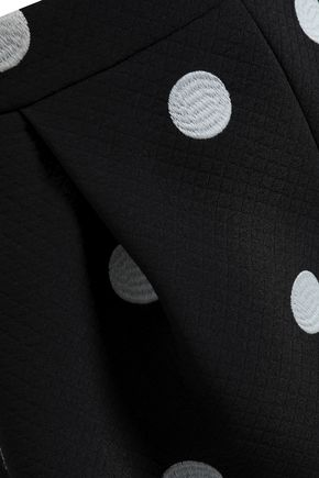 BOUTIQUE MOSCHINO Polka-dot jacquard shorts