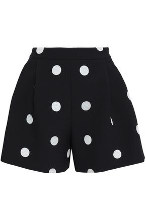 BOUTIQUE MOSCHINO Polka-dot jacquard shorts