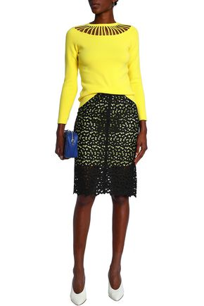 BOUTIQUE MOSCHINO Lace pencil skirt