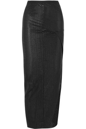 Lamé Maxi Skirt by Rick Owens Lilies