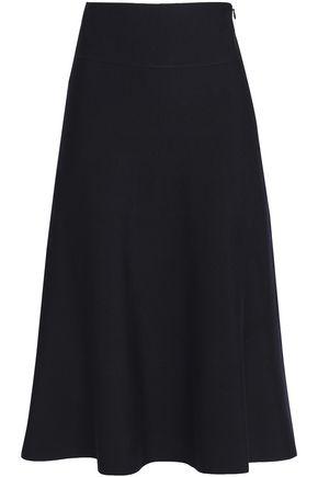 AGNONA Wool-blend midi skirt