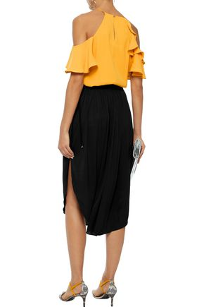 HALSTON HERITAGE Jersey skirt