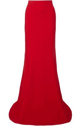 ANTONIO BERARDI Stretch-crepe maxi skirt