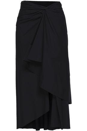 A.L.C. Diller cotton-blend poplin midi skirt
