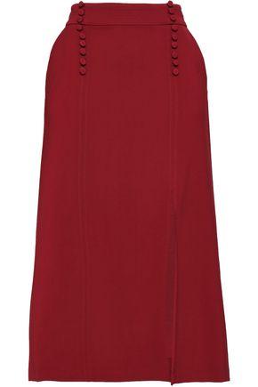 A.L.C. Sydney split-front twill midi skirt