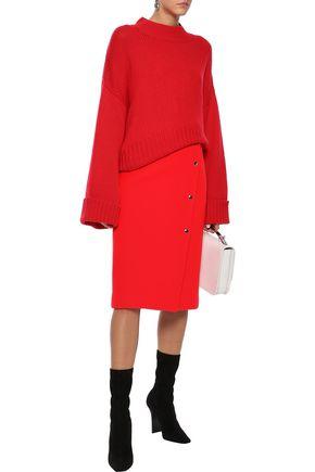 GOEN.J Wool-blend felt skirt