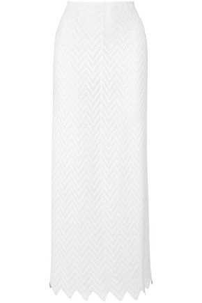ALAÏA Stretch-knit maxi skirt