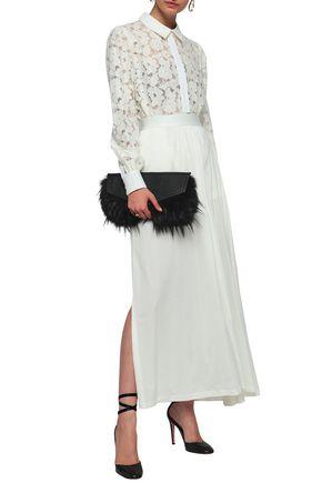 ANN DEMEULEMEESTER Elmer cotton-jersey maxi skirt