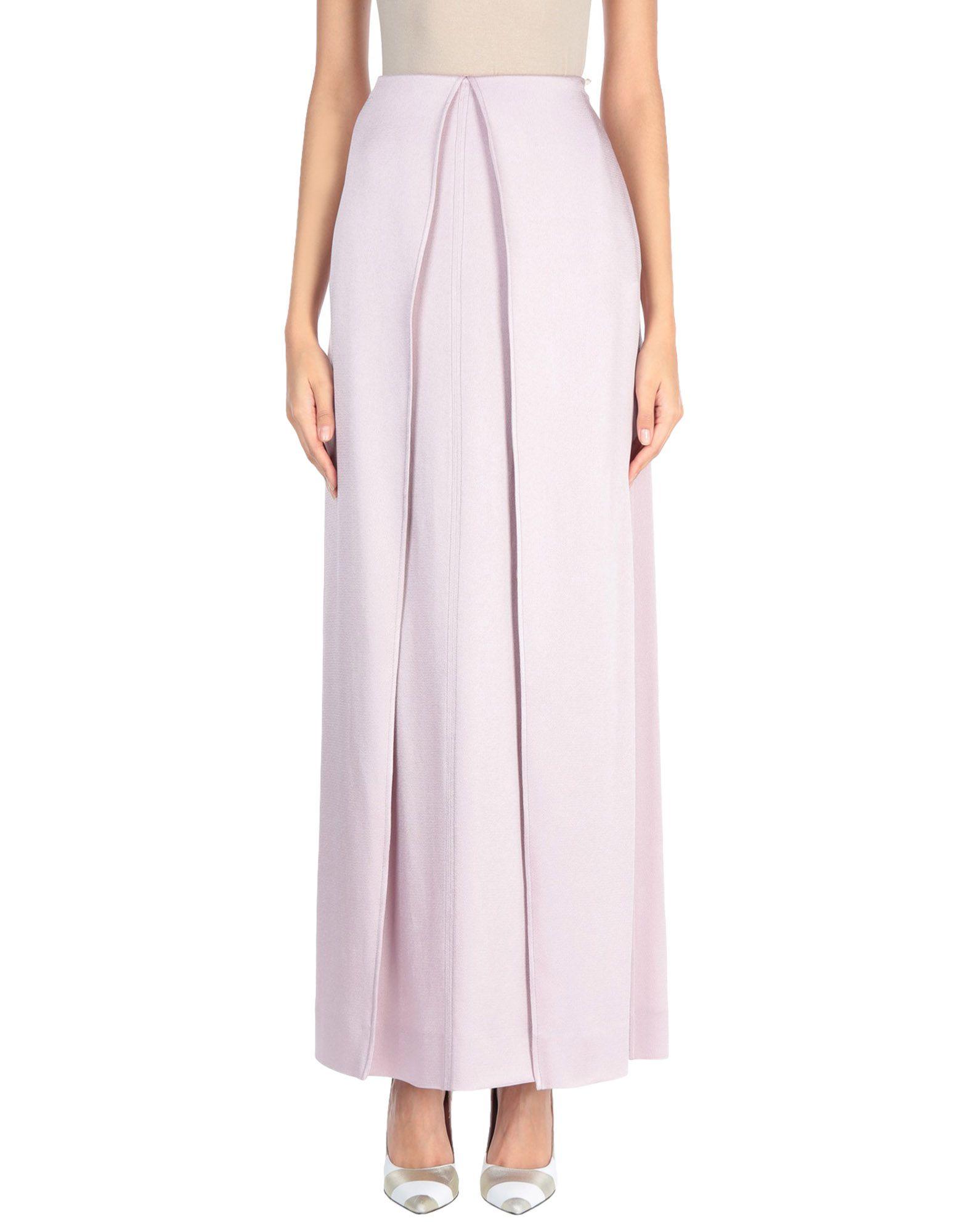 VALENTINO Длинная юбка valentino полупрозрачная юбка