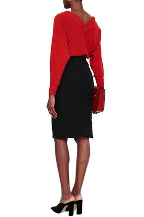 AMANDA WAKELEY Jersey pencil skirt