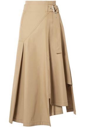 3.1 PHILLIP LIM Belted twill midi skirt