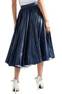 CALVIN KLEIN 205W39NYC Pleated coated-shell midi skirt