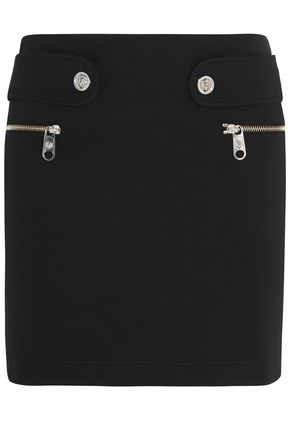 VERSUS VERSACE Studded scuba mini pencil skirt