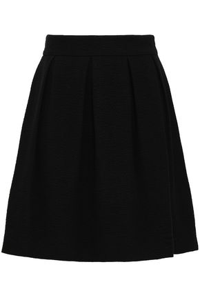 BA&SH Flared woven mini skirt