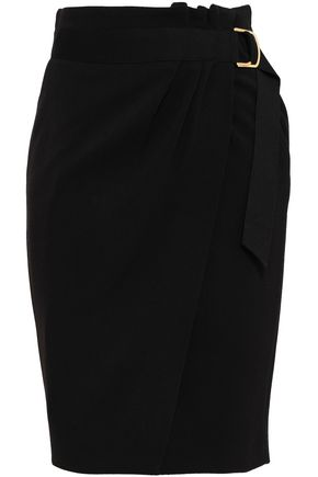 BA&SH Crepe wrap skirt