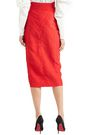 CARMEN MARCH Taffeta midi skirt