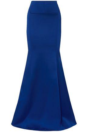 ROLAND MOURET Aries duchesse-satin maxi skirt