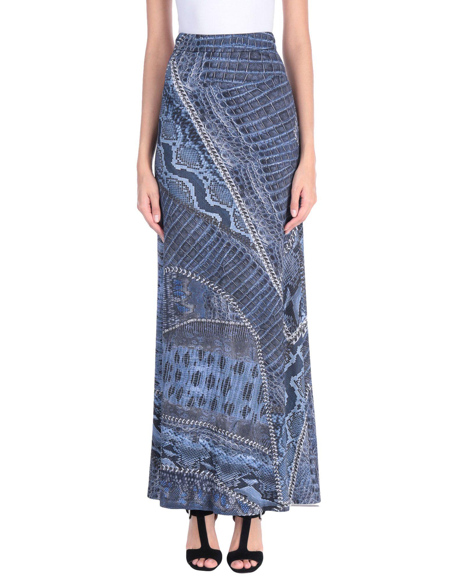 JUST CAVALLI Длинная юбка цена 2017