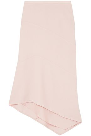 NARCISO RODRIGUEZ Asymmetric wool midi skirt