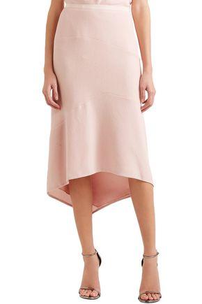 NARCISO RODRIGUEZ Asymmetric wool midi skirt