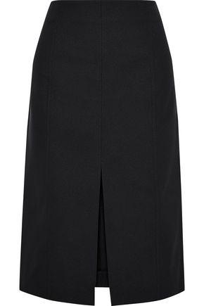 PROENZA SCHOULER Split-front cotton-blend skirt