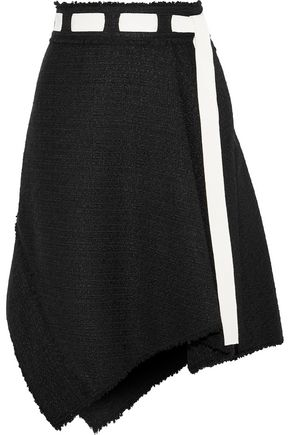 PROENZA SCHOULER Belted bouclé-tweed skirt