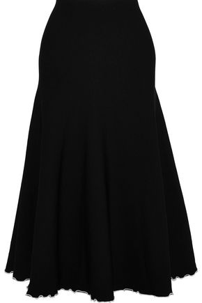 PROENZA SCHOULER Fluted stretch-knit midi skirt