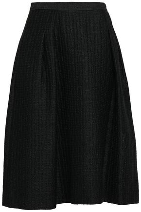 CAROLINA HERRERA Flared jacquard skirt