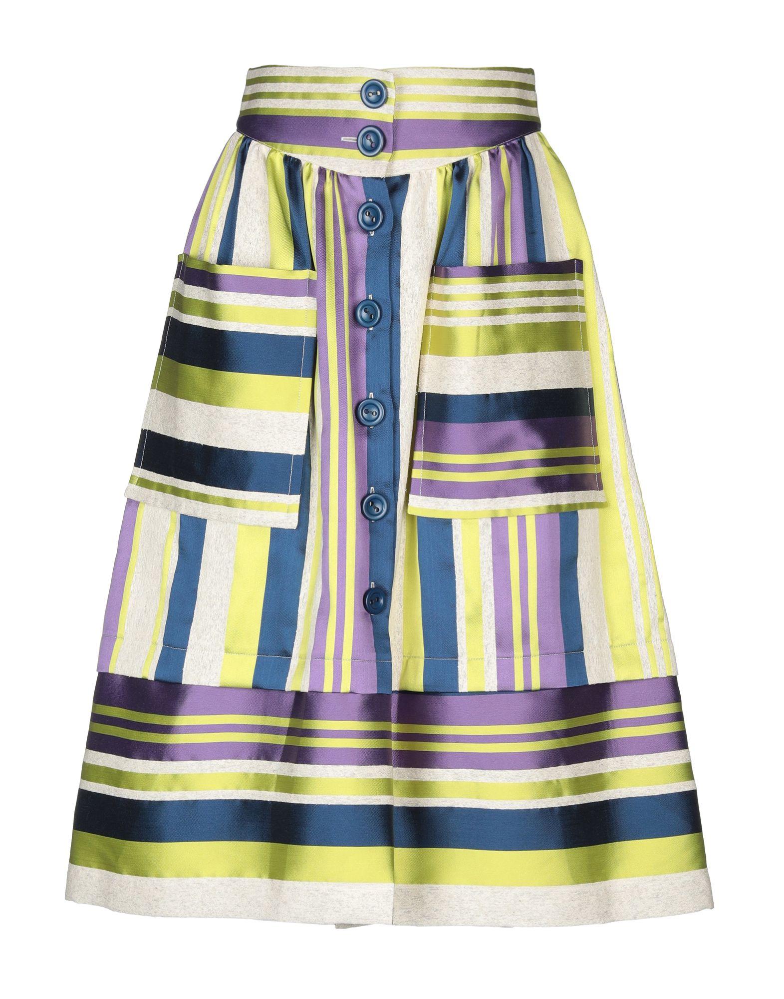 CARLOTTA CANEPA Юбка длиной 3/4 daniele carlotta юбка длиной 3 4