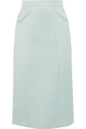 Satin Midi Skirt by Alexachung