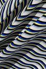 DIANE VON FURSTENBERG Striped silk crepe de chine maxi skirt