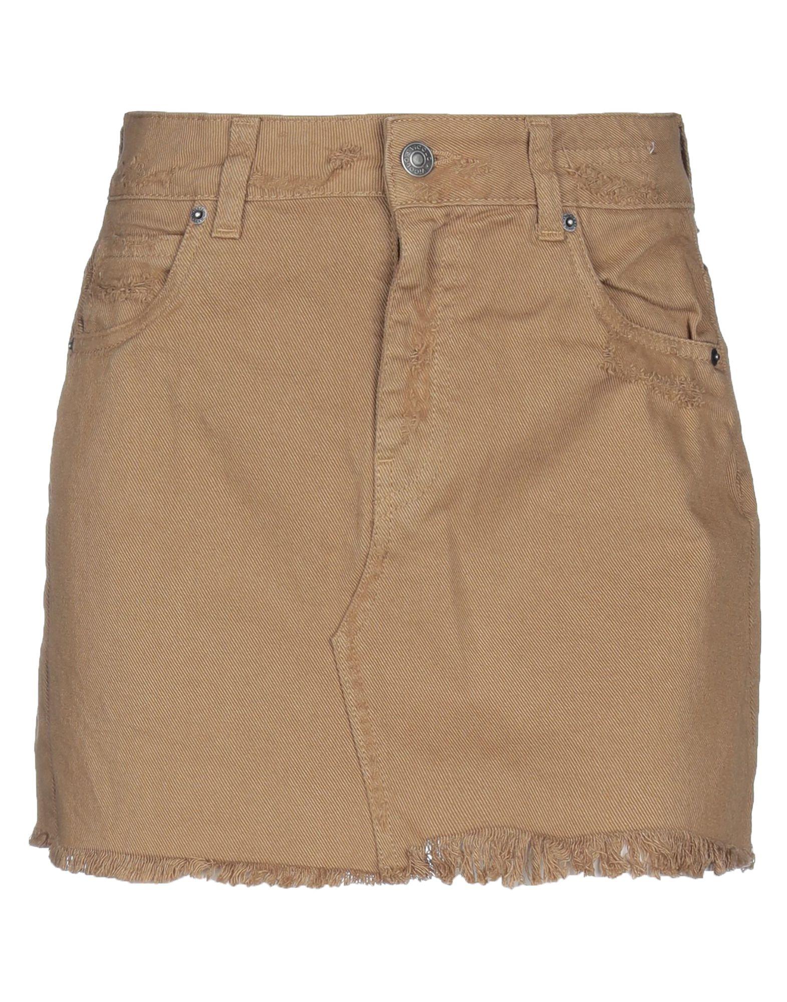 VICOLO Джинсовая юбка юбка джинсовая с нагрудником и лямками barkito деним голубой