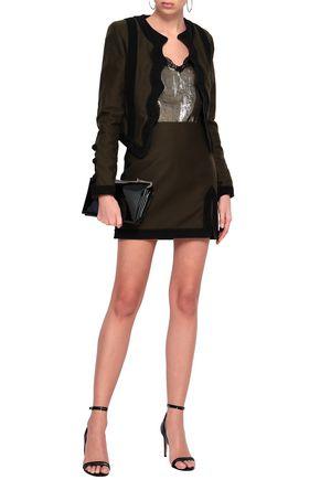 SAINT LAURENT Cotton mini skirt e9d1cb9ec385