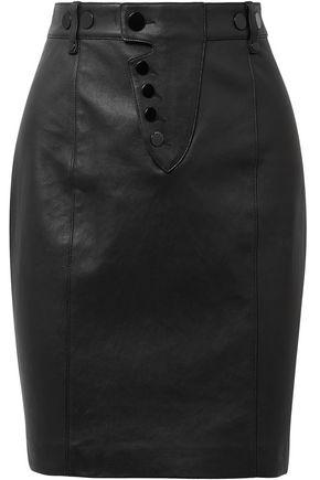 ALEXANDER WANG Leather mini skirt
