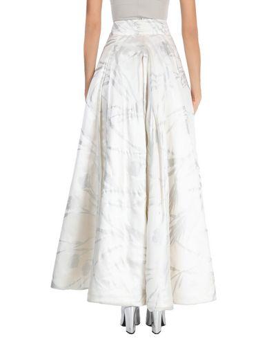Фото 2 - Длинная юбка от RALPH LAUREN BLACK LABEL цвет слоновая кость