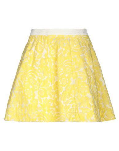 Фото - Мини-юбка от LOREDANA PRIMA желтого цвета