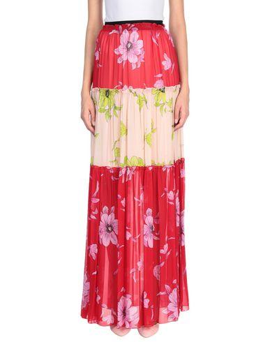 Фото - Длинная юбка от SE-TA Rosy Iacovone красного цвета
