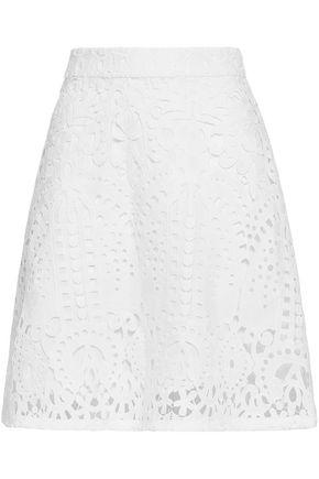 MARKUS LUPFER Cotton-lace mini skirt