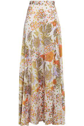 PETER PILOTTO Silk-jacquard maxi skirt