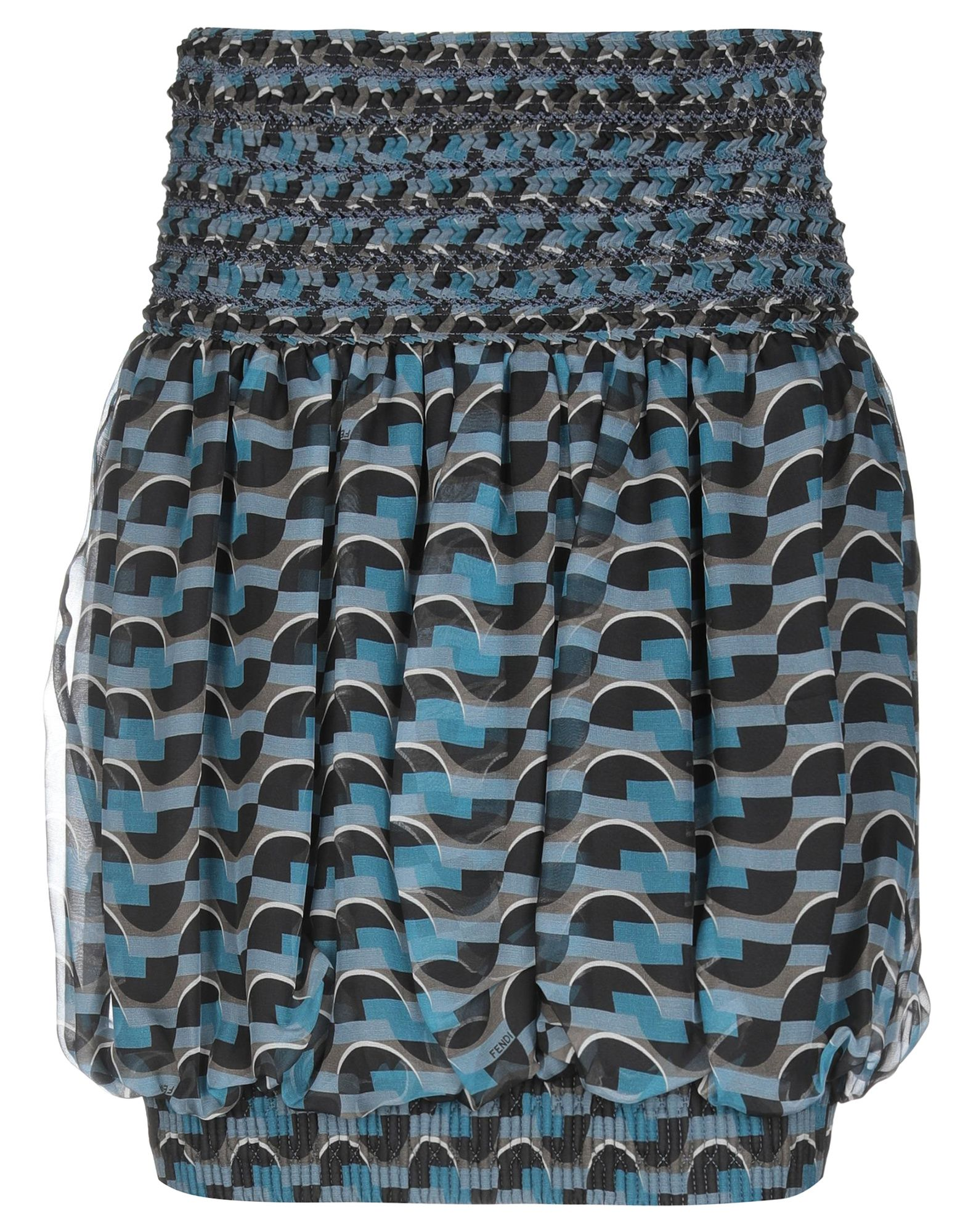 FENDI Мини-юбка fendi мини юбка